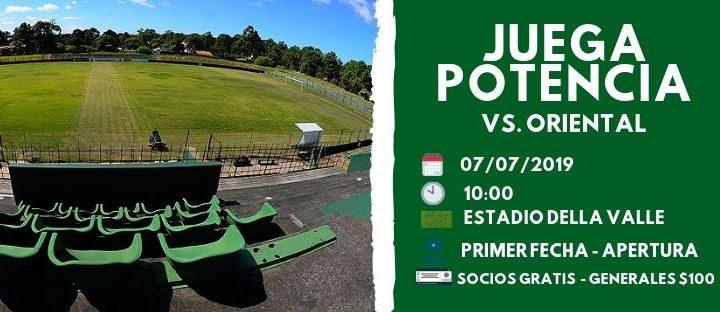 06.07.2019 Mañana domingo comenzará la temporada 2019 para Potencia