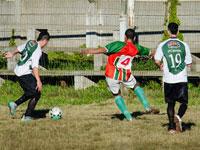 Potencia venció a Colón y lidera en el torneo.