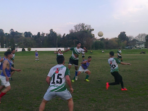 24.08.2014 Potencia jugó 30 minutos ante Mar de Fondo en amistoso