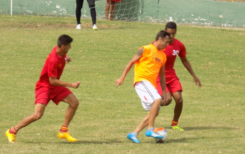 14.02.2015 Potencia se enfrentó en amistoso ante Progreso