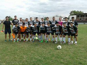 30.04.2017 Potencia se enfrentó a un equipo de Juventud de Las Piedras