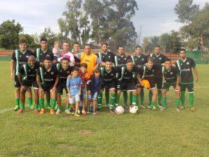 01.04.2017 Potencia jugó dos partidos ante Colón F.C.