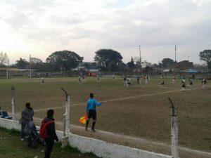 23.07.2017 Potencia enfrentó a Huracán Buceo en el Salus